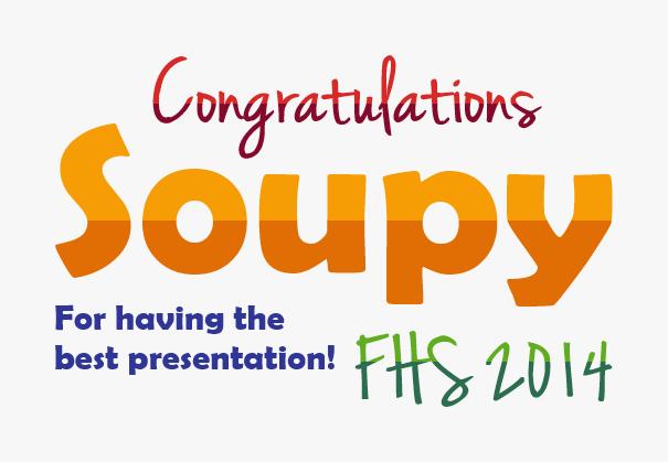 Congratssoupy