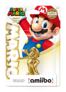 Amiibo - SM - Mario Golden Edition - Box