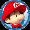 Baby Mario Icon MKWC