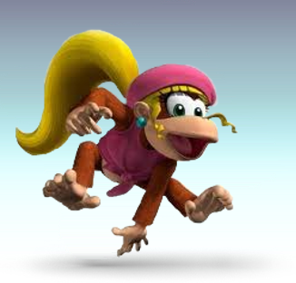 File:Dixie Kong Artwork (SSBD).png