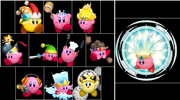 Image - Kirby D.I.Y Power-ups.png | Fantendo - Nintendo ...  Image - Kirby D...