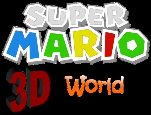 File:SUPER MARIO 3D WORLD logo.png
