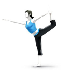 Wii Fit Trainer ;