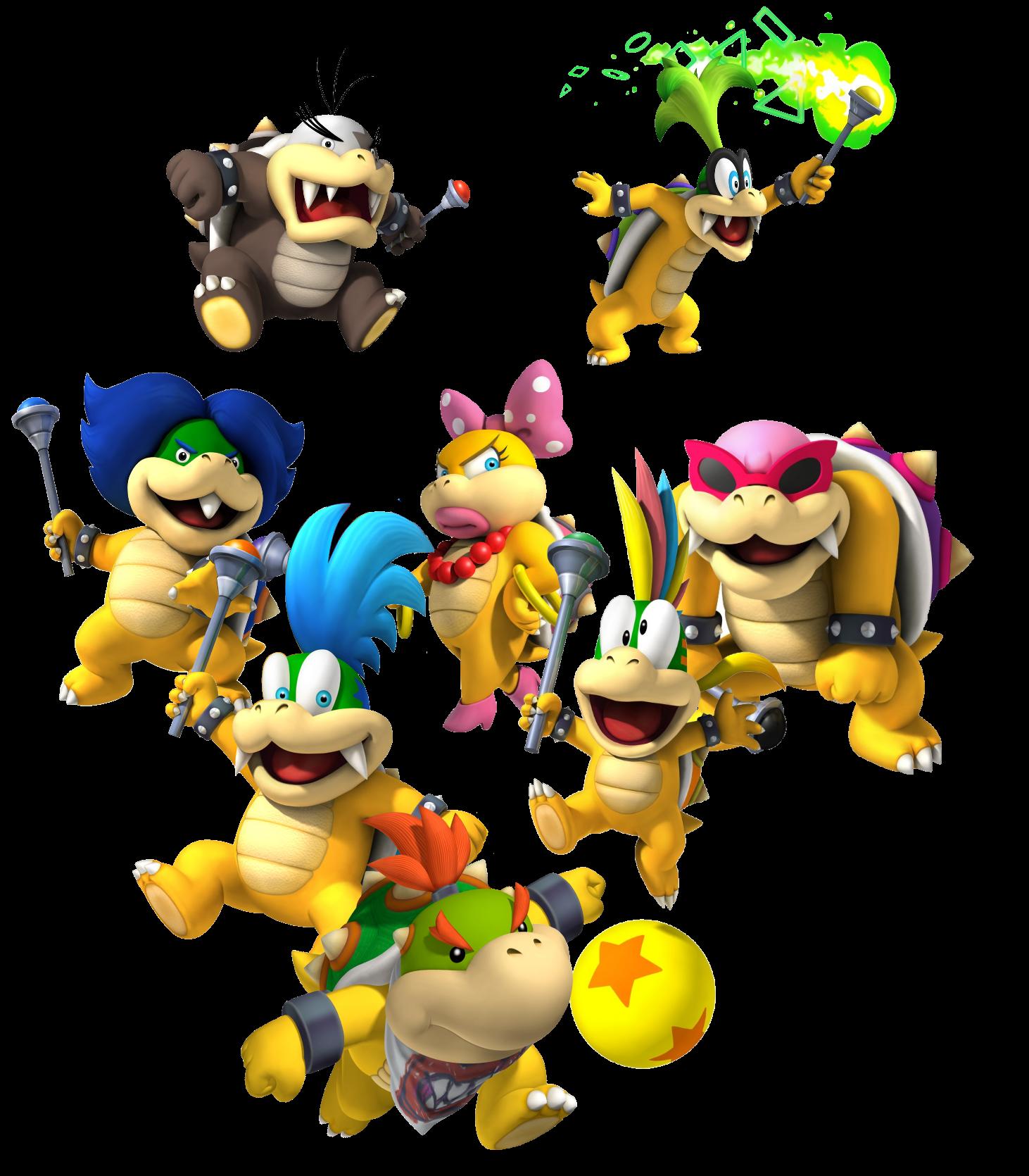 Image 8 Koopalings Png Fantendo Nintendo Fanon Wiki