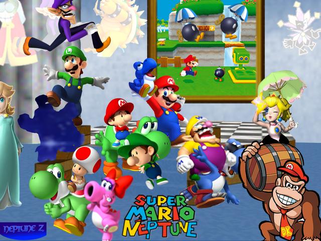 File:Super Mario Neptune.png