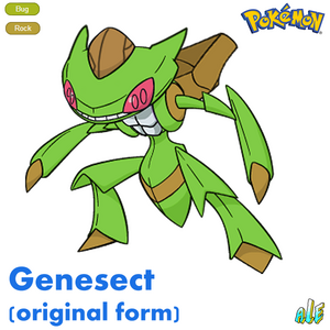 Genesect by urbinator17-d7b2j7o