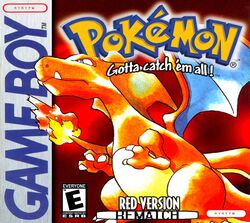Pkmn red REMATCH box art