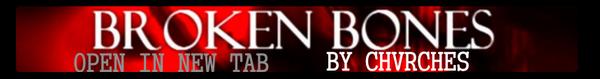 BROKEN BONES - CHVRCHES