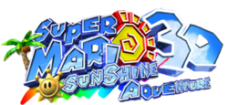 Super Mario Sunshine 3D Adventure logo