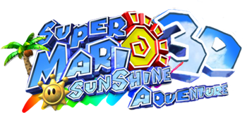 File:Super Mario Sunshine 3D Adventure logo.png