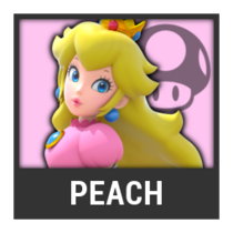 ACL -- Super Smash Bros. Switch character box - Peach
