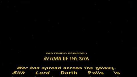 Opening crawl for Episode I