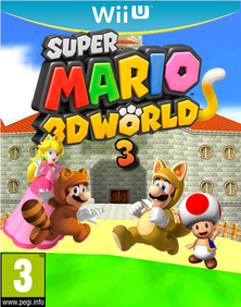 Super Mario 3D World 3 Box-Art by Nova