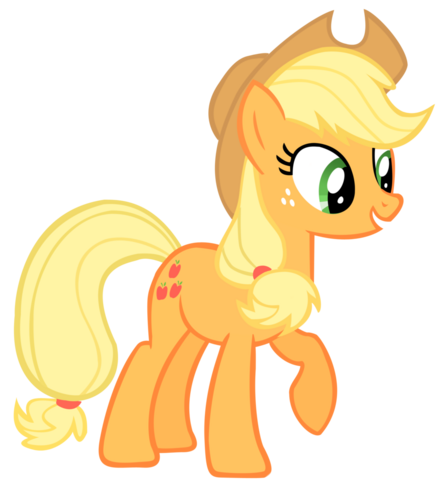 File:Applejack vector.png