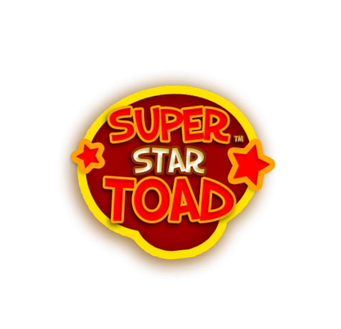 File:Super Star Toad - Original Logo (Without Toads).png