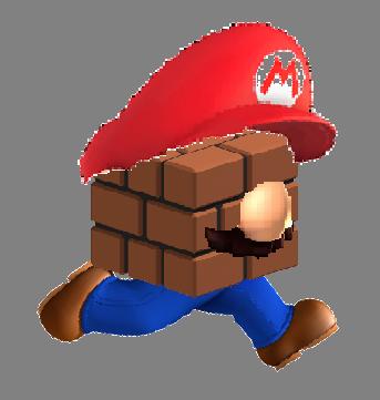 Brick Block Mario