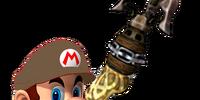 Clawshotter Mario