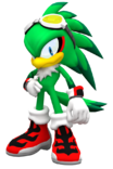 Jet the hawk in sonic world by nibrocrock-d7mo15q