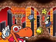 Lava Path post