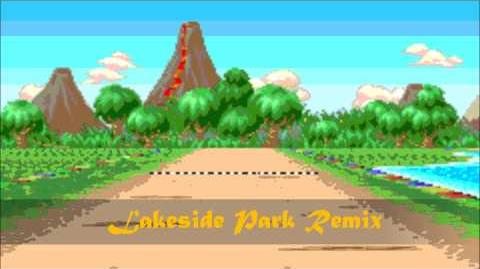Mario Kart Super Circuit Lakeside Park (Remix) ~ My Game Music Remix 44