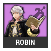 ACL -- Super Smash Bros. Switch character box - Robin