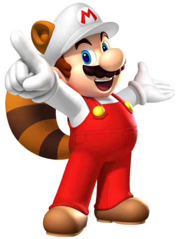 File:Fire Raccoon Mario.png