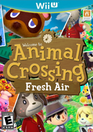Animal Crossing FreshAir Boxart