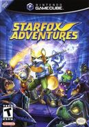 Star Fox Adventures GCN Game Box