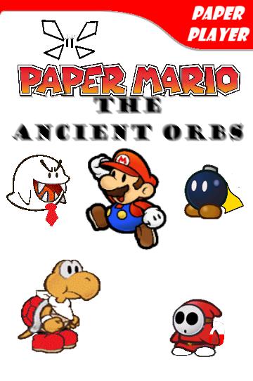 Paper Mario The Ancient Orbs Boxart