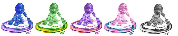 Shadow Mario Palette