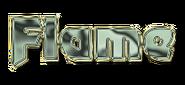 Flame Character Logo