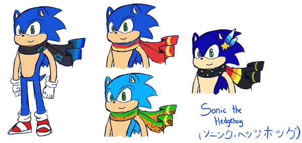 Sonic the Fighters Concept Art