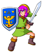 A link to the past pink edition by captain regenold-d622nda