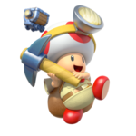 Captain Toad MKA Artwork