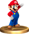 Mario Trophy SSBRiot