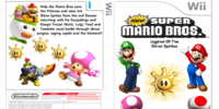 New Super Mario Bros. Legend of the Shine Sprites