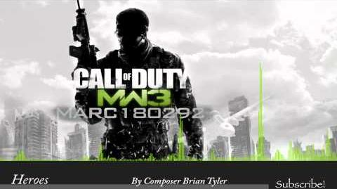 MW3 Soundtrack Heroes