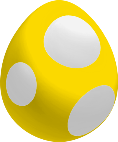 File:Golden Baby Yoshi Egg.png