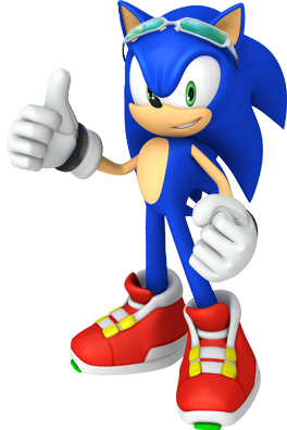 File:Sonic riders pose.png