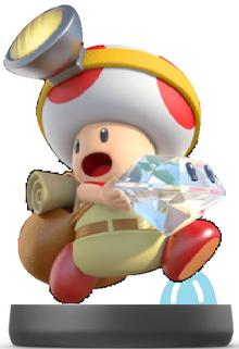 Captain Toad Amiibo