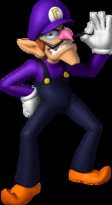 Waluigi Smash Bros