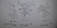 The Nature Fairy Trio