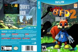 Conkers bad fur day 2 hangover