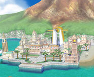 Delfino Plaza Stage