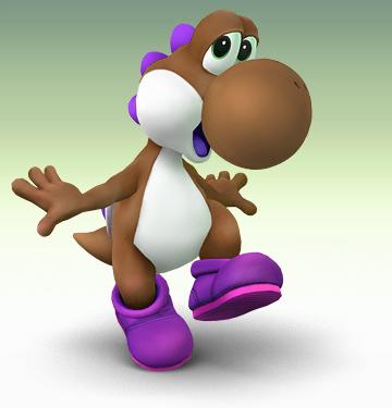 File:Brown Yoshi..png