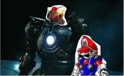 Iron Mario photo
