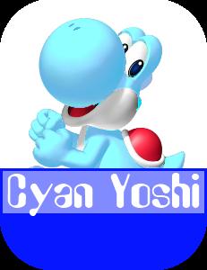 File:Cyan Yoshi MR.png