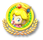 Baby Peach Tennis Icon