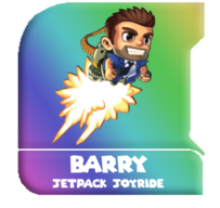 Barry jetpack joyride render by denderotto-d8woag7