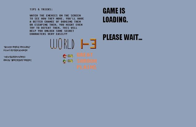 File:NSMB ASA 2 Game Is Loading Screen.JPG